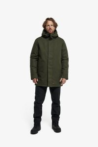 J25 Parka Cotton Canvas Utility Green/Black