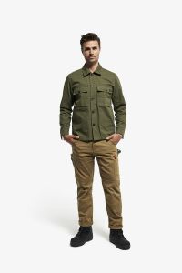 J1 Basket Weave Jacket Utility Green